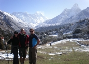 On the way to Everest