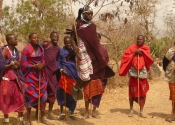 Jumping with the Masai, Africa