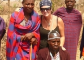Hanging with the Masai